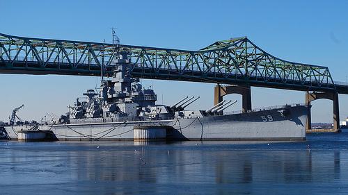 The USS Massachusetts BB29