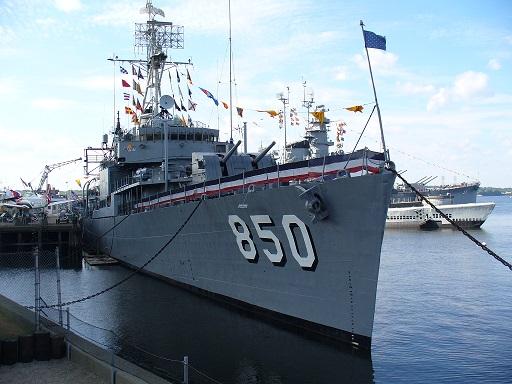 The USS Joseph P. Kennedy, Jr. DD850
