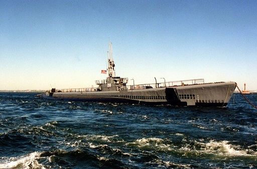 The USS Lionfish SS298 submarine