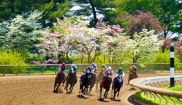 Spring races at Keenland