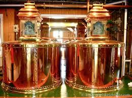 The infamous copper pots stills
