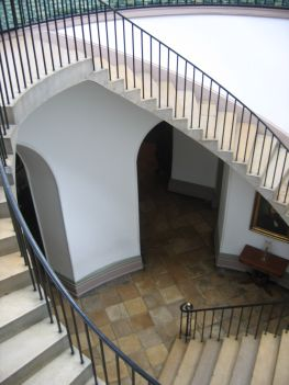 Staircase at the Old Capital