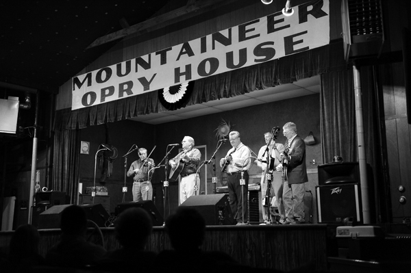 Early picture from the Opry House.