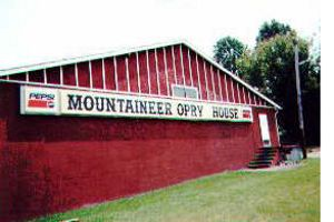 The Mountaineer Opry House held shows in this building on Johns Creek Road. In 2018 it was sold to a local medical provider.