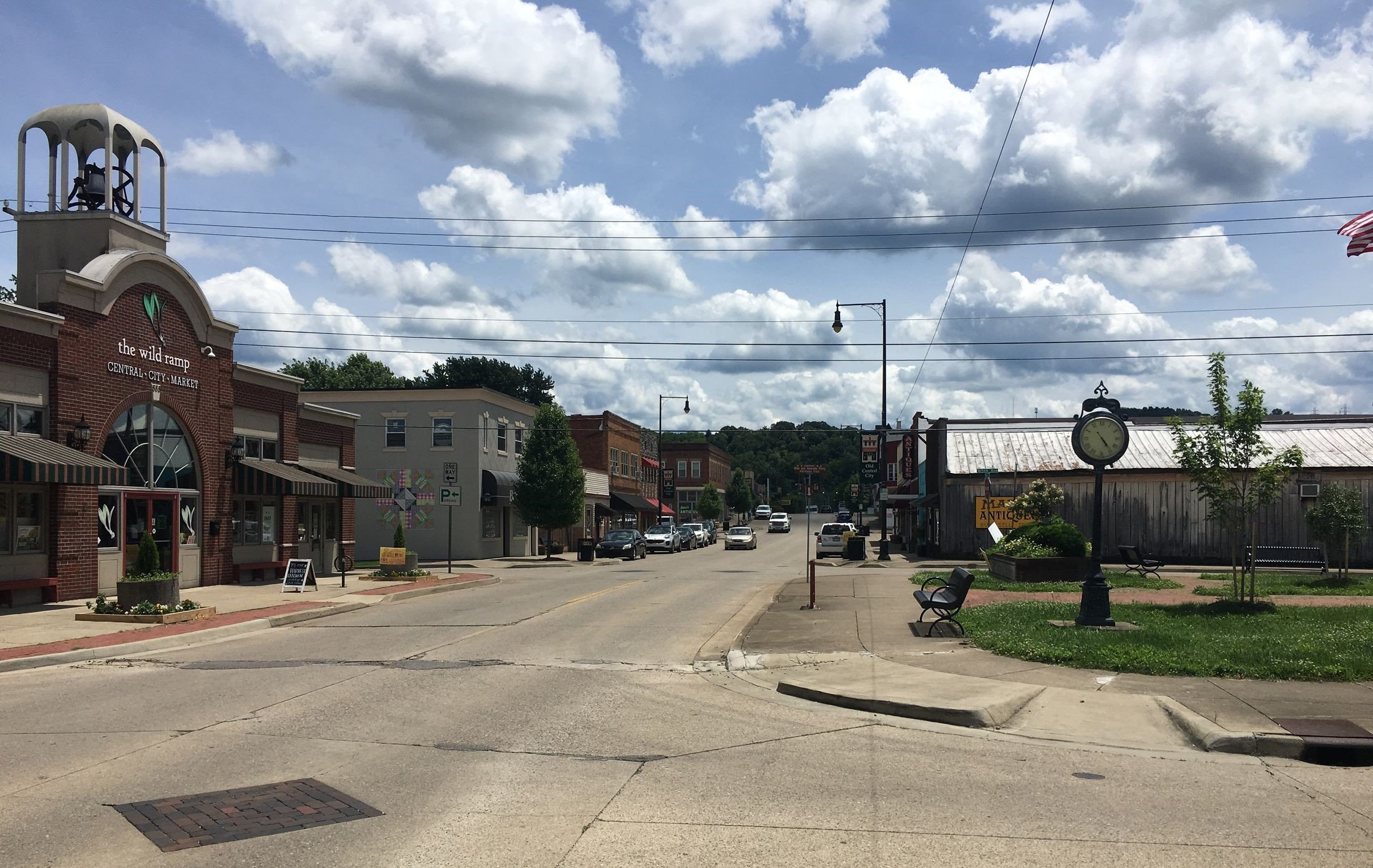 Once a thriving industrial town, Central City has since been adapted into a cultural and antique district. Image courtesy of Steven Cody Straley.