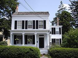 Albert Einstein's home was built, it is believed, sometime in the 1860s-1870s.