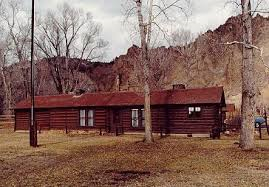 The Wapiti Ranger Station was the first ranger station built by the United States Forest Service. It is a National Historic Landmark.