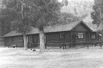 The Wapiti Ranger Station many years ago