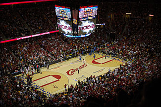 A number of events take place at the arena including concerts and NCAA basketball tournament games.