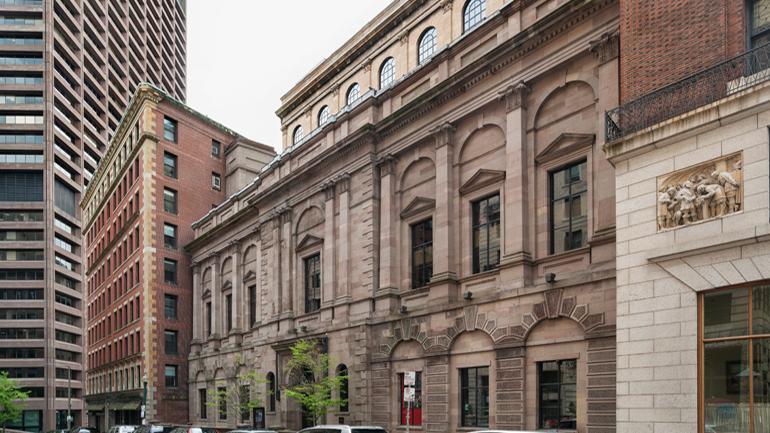 Exterior, Boston Athenaeum  www.bostonathenaeum.org