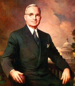 Harry. S Truman.