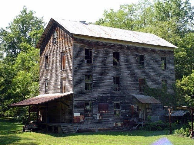 Before - The Mill ceased commercial operation in the early 80s and was placed on the National Historic Register. Idle and waiting under the watchful eye of Doris Jessup, Jessup Mill was in need of maintenance.