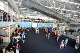 The museum features many aircraft and Delta and aviation-related items on display.