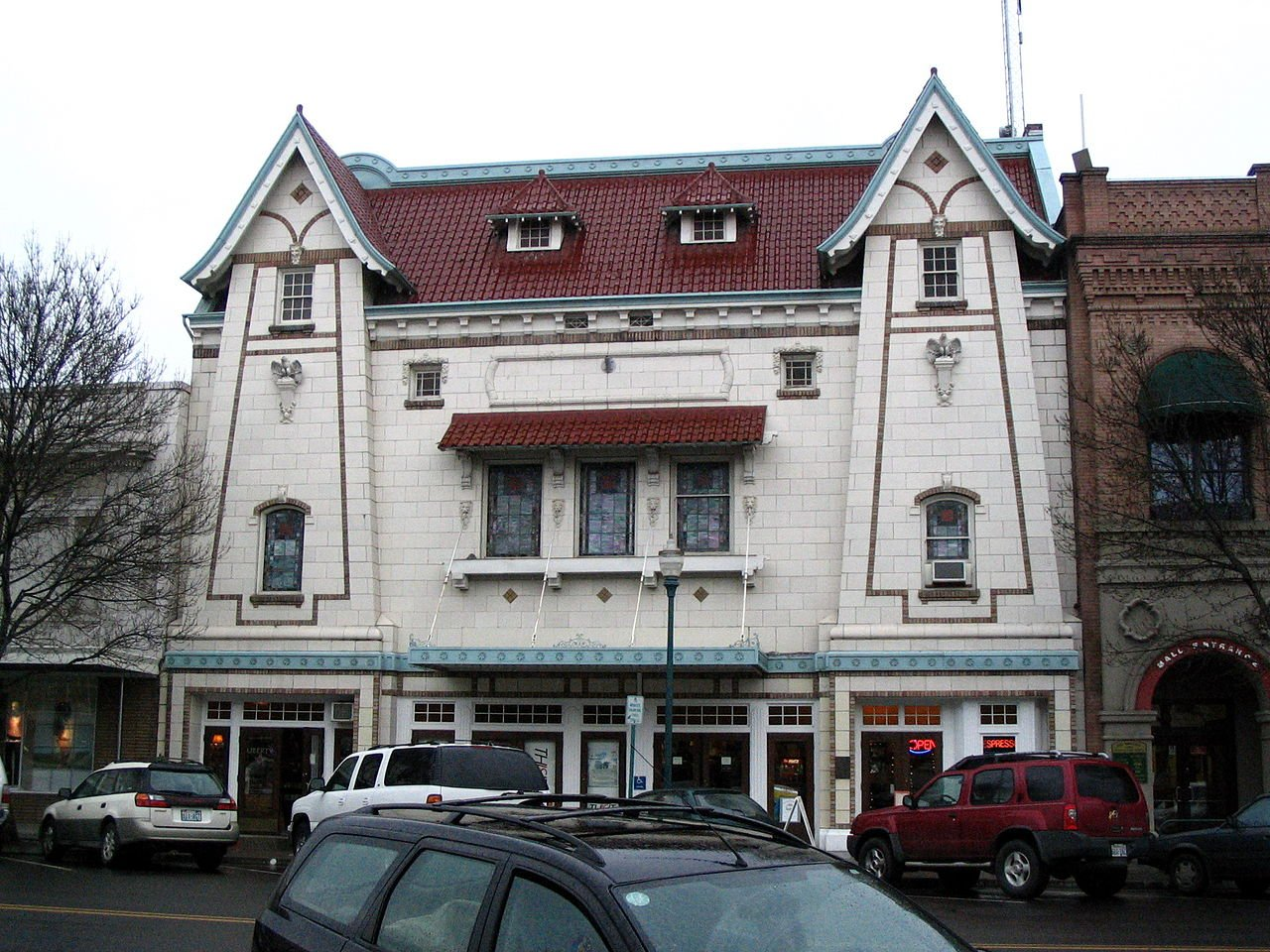The American Theater in Walla Walla opened in 1917.