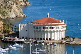 A picture of the Catalina Casino in 2006.