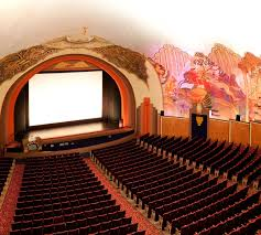 The movie theatre inside the casino.