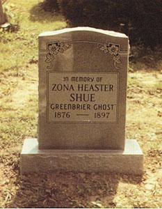 Zona's Tombstone.