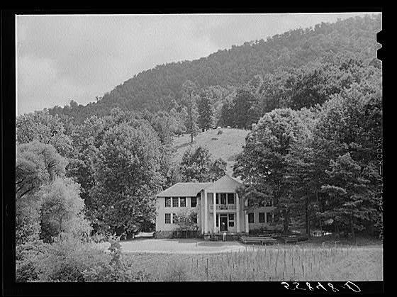 Pine Mountain Settlement School, circa 1940.