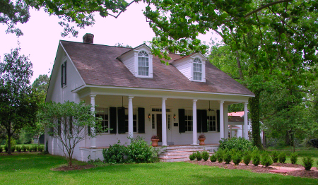 Thomas Freeman built this home in 1820. Freeman, like the other owners of the property, owned slaves who lived in four cabins near the home.