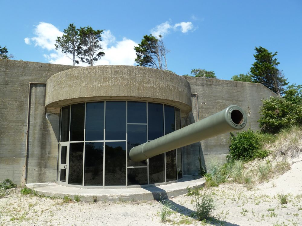Fort Miles is now a museum operated by the Fort Miles Historical Association.