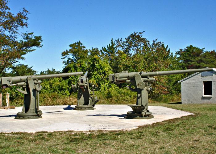 3-inch guns