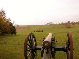 Picture of a portion of the battlefield