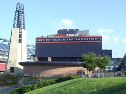 Gillette Stadium with view of the Light House.