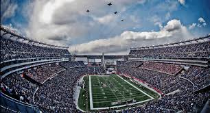 Aerial view of Gillette Stadium.