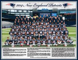 New England Patriots Team Picture.