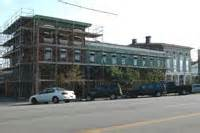 Renovation continues on this historic hospital.