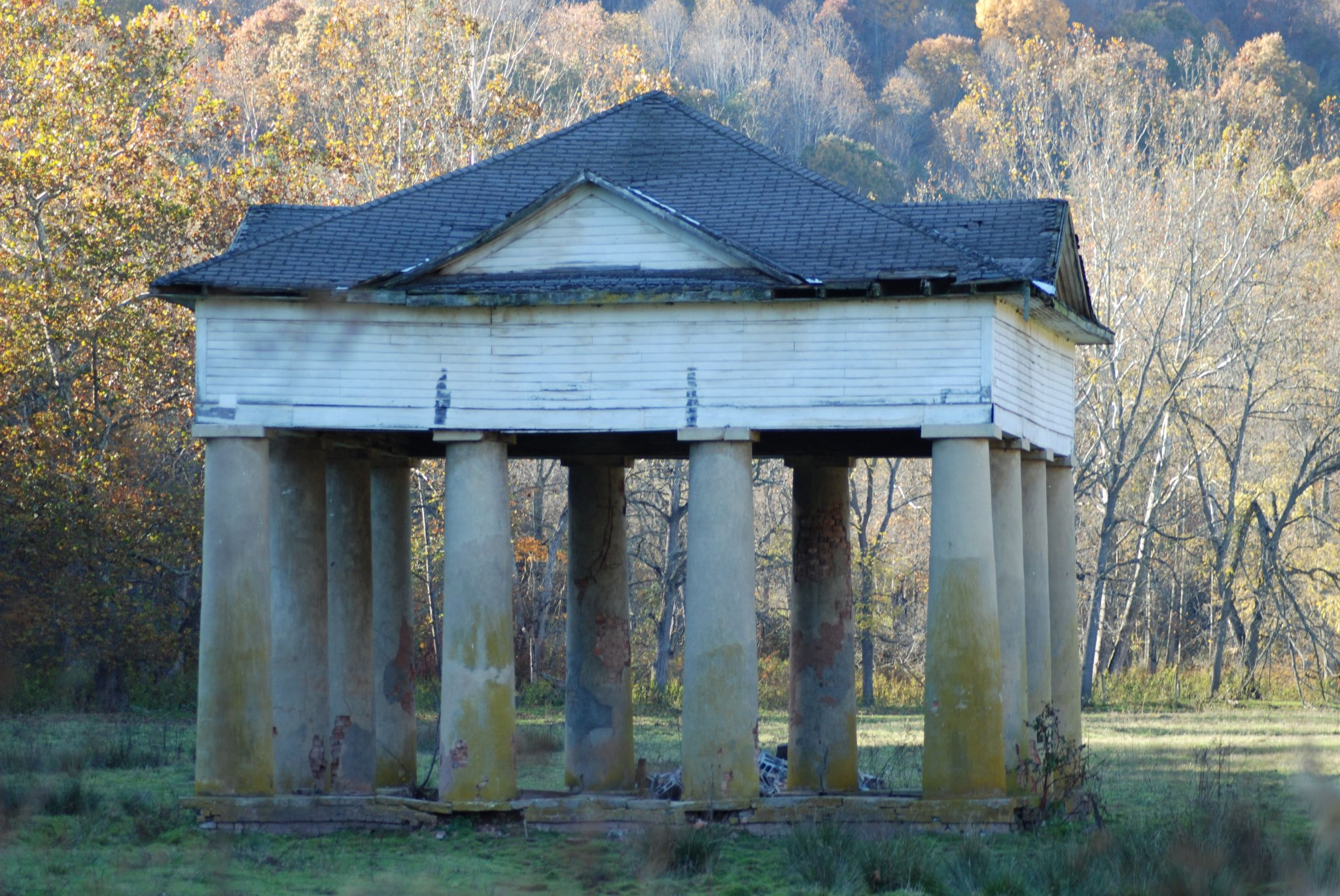The Blue Pavilion at Blue Sulphur Springs 2013
