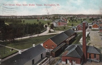 View from water tower early 1900s