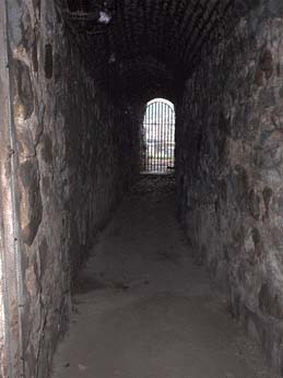 Tunnel under Emmanuel Church used to aid run away slaves.