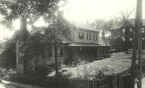 The Blount Mansion, courtesy of the official website.