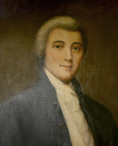 William Blount's portrait, courtesy of the official website.
