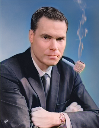 George Lincoln Rockwell, founder of the American Nazi Party