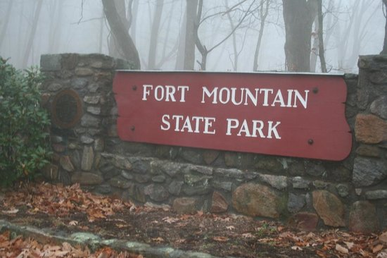 Fort Mountain State Park Gate