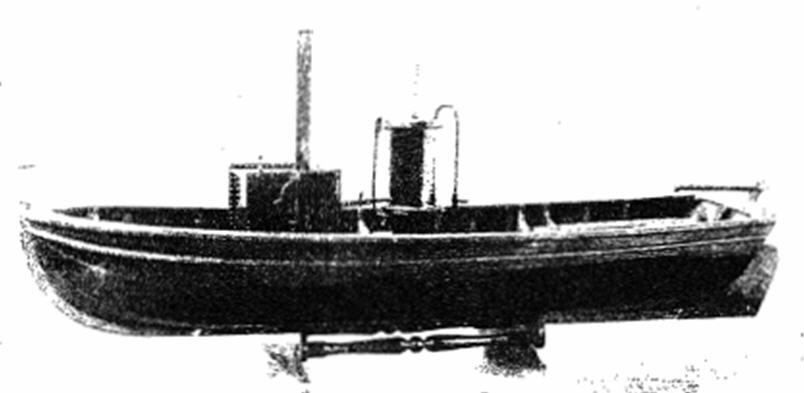 Model of Rumsey's Steamship