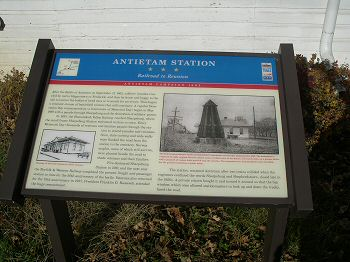 Antietam Station - Civil War Trails Interpretive Marker
