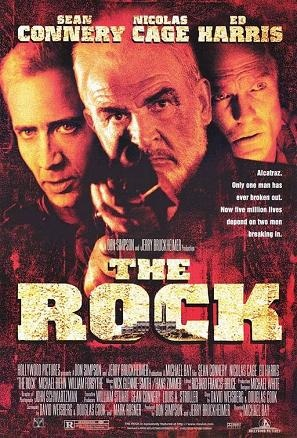 Movie poster for THE ROCK