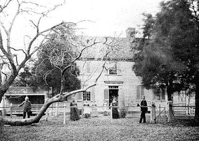John Stone House, circa 1850s.