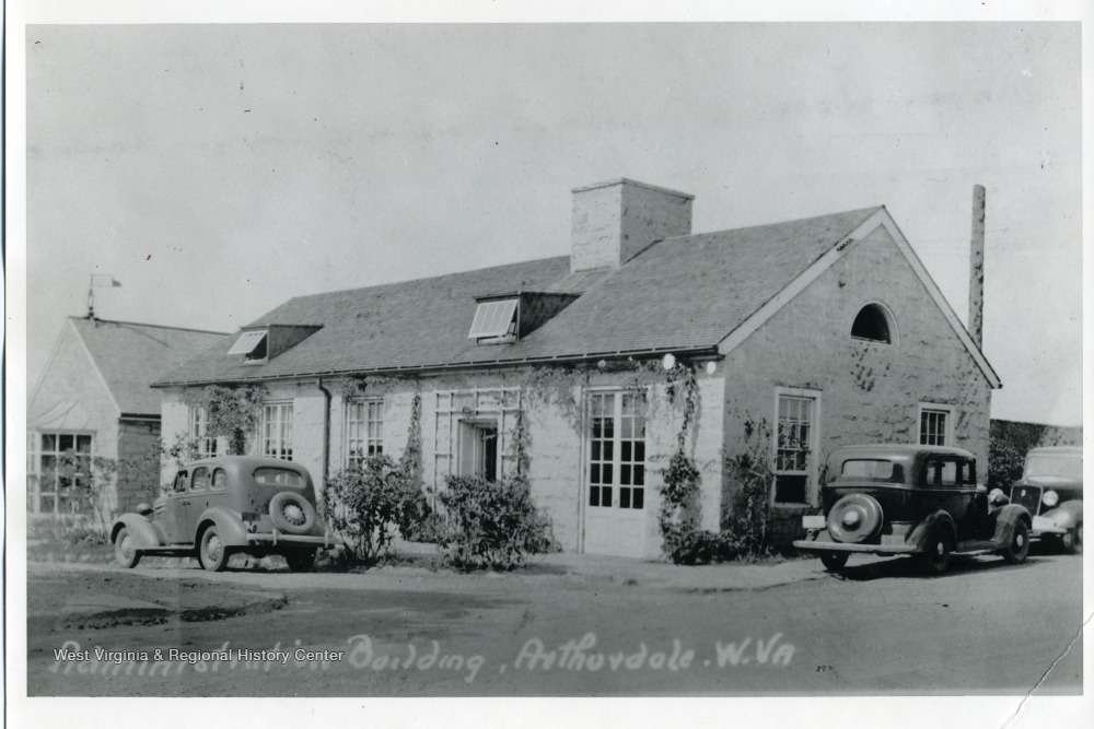 The Administration building in the early 1940s