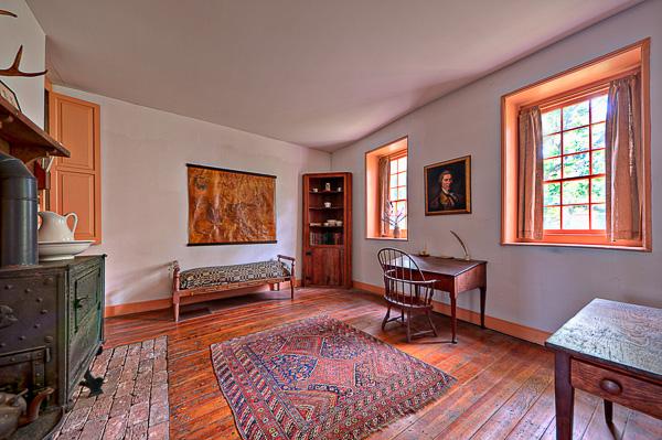 Interior of the Adam Stephen House