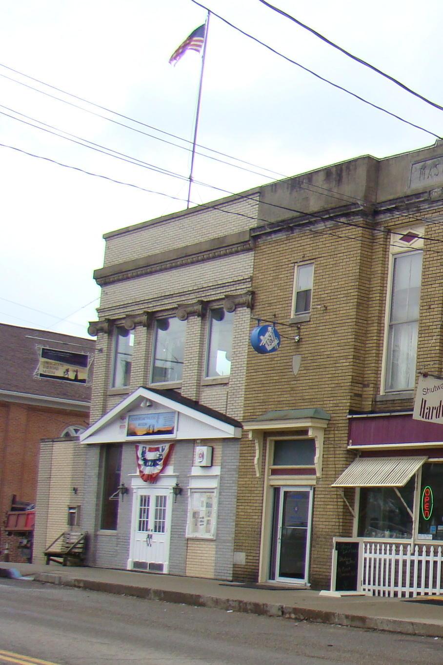Underground Railroad Museum in Flushing, Ohio.