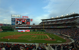 Nationals Park opened in 2008