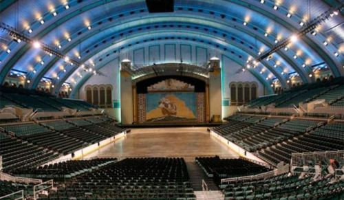 Boardwalk Hall: inside