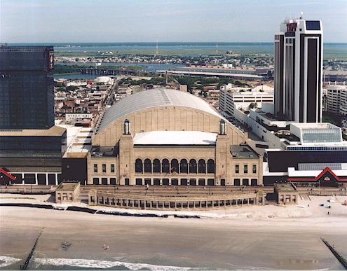 Outside of Boardwalk Hall