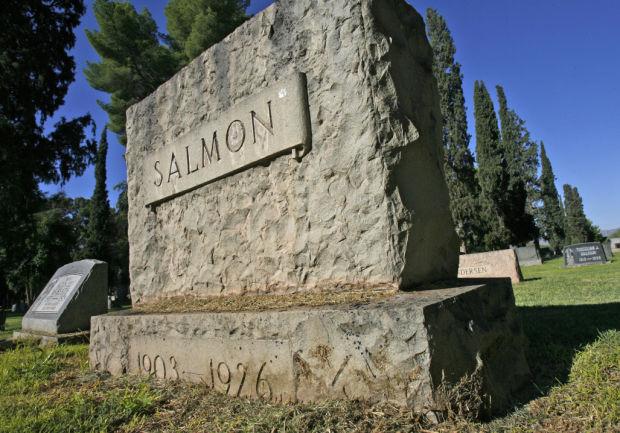 Gravestone of Salmon
