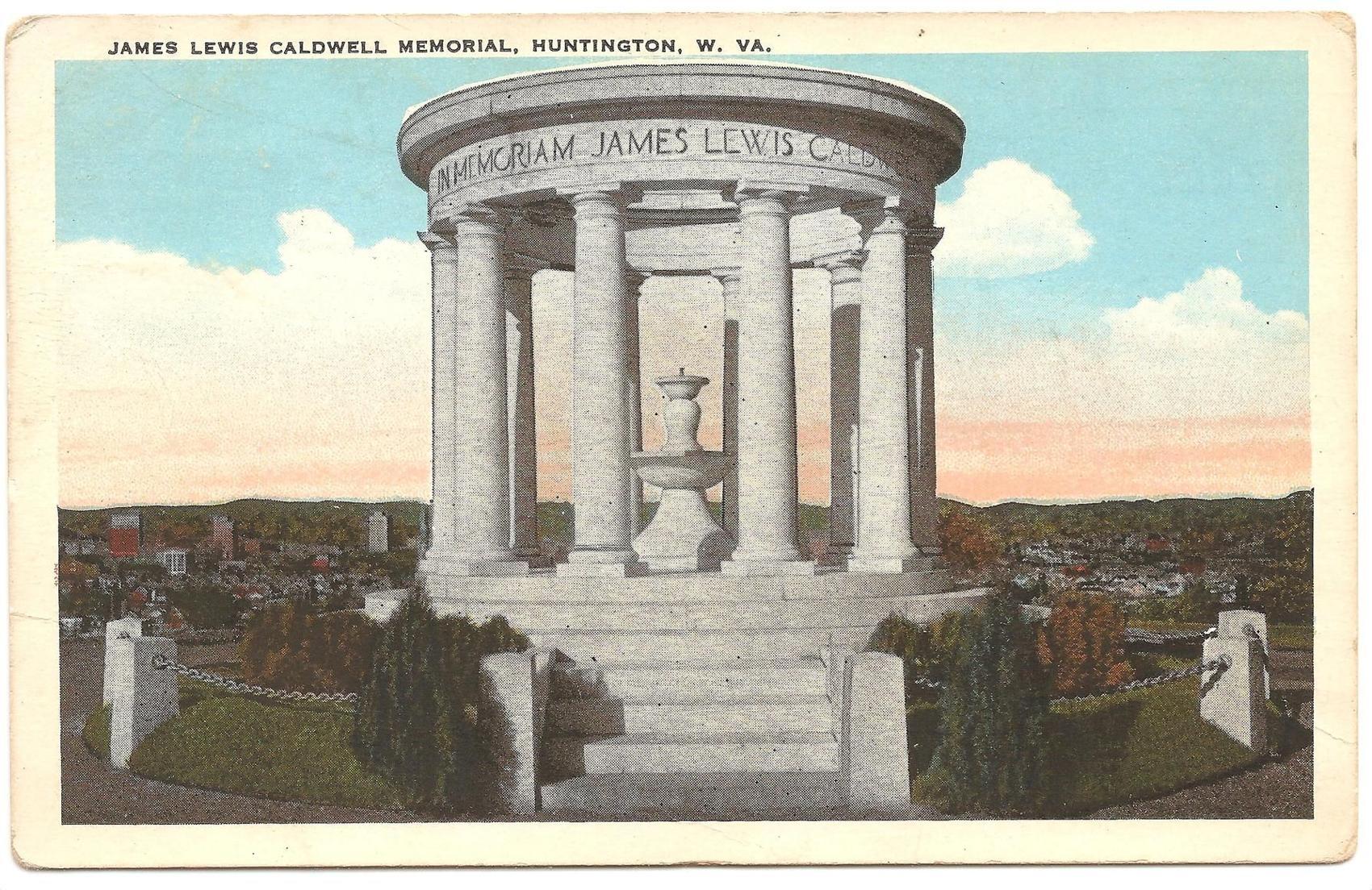 Postcard of the memorial