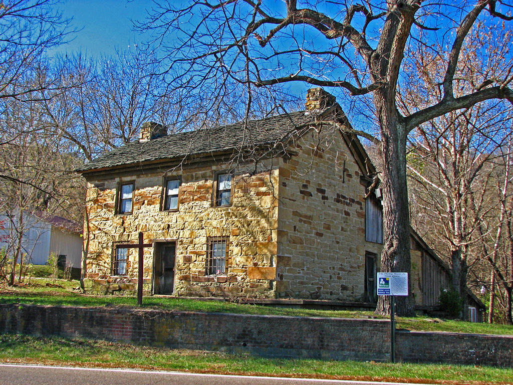 The Philip Moore, Jr. Stone House dates back the the late 18th century